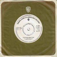 BILLY FURY I'll Be Your Sweetheart Vinyl Record 7 Inch Warner Bros. 1974 Promo